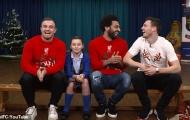 Salah và đồng đội tạo bất ngờ cho CĐV nhí