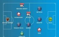 Đội hình tiêu biểu lượt đi Ligue 1 mùa 2018/19: Depay vắng mặt, PSG có 4 cái tên