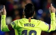 Những thống kê cực khủng của Messi trong năm 2018