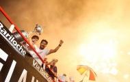 River Plate diễu hành tưng bừng mừng vô địch Copa Libertadores