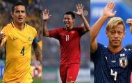 Anh Đức sánh vai Cahill, Honda trong danh sách 'Lão tướng vắng mặt' tại Asian Cup
