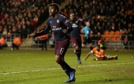Sao trẻ lập cú đúp, Arsenal dễ dàng ghi tên vào vòng 4 FA Cup