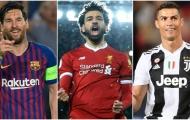 Đội hình mạnh nhất châu Âu hiện tại: Không Hazard, Real vắng bóng
