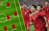 Đội hình Việt Nam đấu Iraq: Văn Lâm bắt chính, chỉ có 1 cái tên HAGL