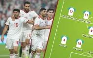 Đội hình ra sân ĐT Iran: Khắc tinh CR7 góp mặt, vắng sao Ngoại hạng Anh