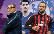 Gonzalo Higuain và hiệu ứng domino từ vụ chuyển nhượng tới Chelsea