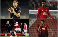 6 sao 'tuổi teen' có thể xuất hiện trong trận Arsenal - Man Utd