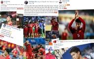 Công Phượng và các cầu thủ ĐT Việt Nam gửi thông điệp đến NHM