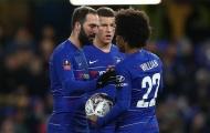 5 điểm nhấn Chelsea 3-0 Sheffield Wednesday: Higuain ghi điểm, Willian đạt cột mốc khủng