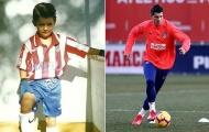 Morata có lần đầu tiên cùng Atletico Madrid