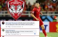 CĐV Thái Lan nói gì về tin đồn Muangthong Utd muốn mua Đoàn Văn Hậu