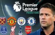 Michael Owen dự đoán vòng 25 EPL: Man City 'bắn hạ' Arsenal?