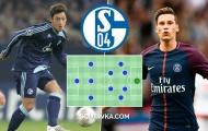 Đội hình 4-2-3-1 cực chất từng khoác áo Schalke 04: Tinh tú tụ hội