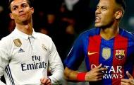 Neymar vượt trội Ronaldo ở tuổi 27
