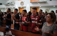 Bầu không khí tang thương nơi 10 cầu thủ trẻ của Flamengo tử nạn