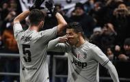 Các Juventini ngất ngây với pha ăn mừng của Ronaldo