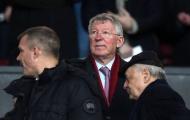 Sir Alex thất thần trên khán đài khi Man Utd thua PSG