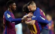 Sự trở lại của Dembele và Alba - Đội hình ra sân của Barca cuối tuần