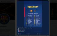 Fan Barca bức xúc vì đội hình thi đấu trước Valladolid