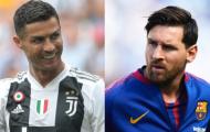 'Ronaldo như 1 quả tên lửa, còn Messi thì không'