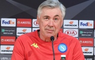 Ancelotti cảnh báo Napoli không được chủ quan trước FC Zurich