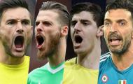 CHÍNH THỨC: Lộ diện thủ môn xuất sắc nhất năm 2018