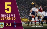 5 điểm nhấn Burnley 2-1 Tottenham: Trọng tài cần VAR, Kane cô độc trên hàng công