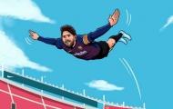 Lập hattrick và tạo kỷ lục, nhưng Messi vẫn thua Ronaldo