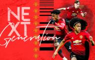 Chân dung 3 'báu vật' của Man Utd được đôn lên đội 1