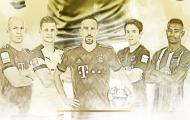 'Robbery' và thế hệ truyền cảm hứng ở Bundesliga
