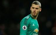 NÓNG: HLV Man Utd công bố tương lai De Gea