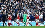 Cầm hòa Tottenham, Arsenal trở thành 'độc nhất' tại Anh