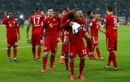 Hủy diệt Monchengladbach, Bayern chính thức san bằng điểm số với Dortmund