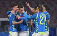 Đại thắng Red Bull Salzburg, Napoli đặt 1 chân vào tứ kết Europa League