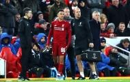 Thảm họa ập đến với Liverpool khi mất trụ cột ở hàng thủ