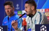Người Atletico Madrid tỏ thái độ bất ngờ khi nhắc đến Juventus