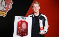 Sao trẻ nước Đức giành giải cầu thủ hay nhất tháng 2 tại Bundesliga