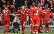 James Rodriguez lập hattrick trong ngày Bayern có trận thắng hủy diệt