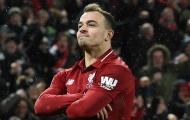 Hết Liverpool, cả lên tuyển Shaqiri cũng chẳng thể thi đấu