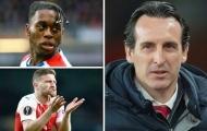 Để Arsenal thật sự là của mình, Emery cần trảm 4, mua 3