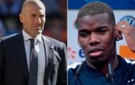 Ưu tiên của Zidane là tin cực xấu cho Pogba