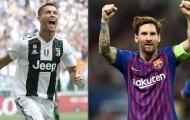 Messi gọi tên 5 cầu thủ xuất sắc nhất thế giới: Không có Ronaldo!