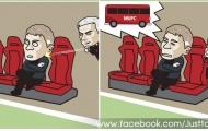 Biếm họa: 'Xe buýt Mourinho' ám ảnh Solskjaer; Việt Nam đấm người Thái 'bầm dập'