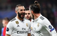 Hé lộ đội hình Real đấu Huesca: 'Mũi khoan' Bale, Benzema
