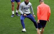 Đích thân Simeone thị phạm, dàn sao Atletico tập luyện đầy tiếng cười