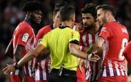 Chửi trọng tài 1 câu kinh tởm còn thái độ lồi lõm, Diego Costa 'đi tắm sớm' chỉ sau 28 phút