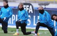 Đồng đội Ronaldo úp mở việc bị Real Madrid 'đá ra đường'