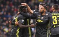Đội hình Juve đấu với SPAL trẻ nhất trong 20 năm trở lại