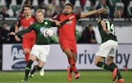 Wolfsburg 1 - 1 Frankfurt và hãy xem 2 'thống soái' nói gì sau trận đấu?
