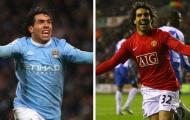 5 ngôi sao từng khoác áo Man City và Man Utd: 'Gã Judas' Carlos Tevez